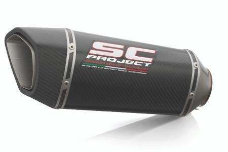 SC Project - KTM 790 Adventure Carbon SC1-R Slip-On Exhaust System