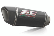 SC Project - KTM 790 Adventure Carbon SC1-R Slip-On Exhaust System