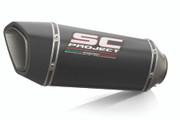 SC Project - KTM 790/890 Adventure Carbon SC1-R Slip-On Exhaust System