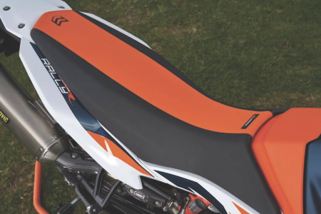 Tall Ergo Seat Orange/Black