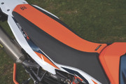 Tall Ergo Seat Orange/Black