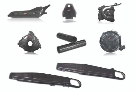 Tekmo KTM 690 Enduro / SMC-R (2019+) Complete Carbon Fiber kit