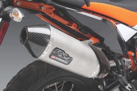 Yoshimura RS-4 Works Finish - KTM 790 Adventure Slip-On Exhaust System