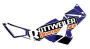 Rottweiler Performance Graphics Kit - BLUE