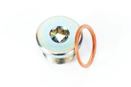 O2 Sensor Plug / (18mm Mild Steel)