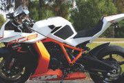 TechSpec - KTM RC8 XLine Gripster Tank Traction Pads