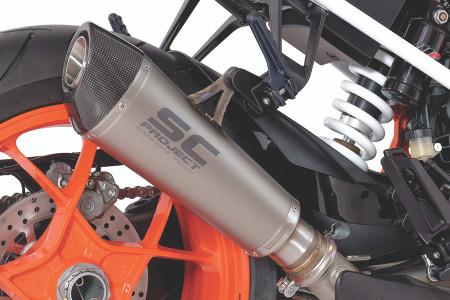 SC Project - KTM 1290 Super Duke R Conic Titanium Slip-On Exhaust System