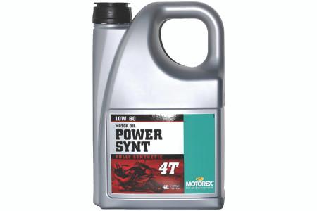 Motorex Power Synth 4T 10W60 100% Synthetic Oil - 4 Ltr