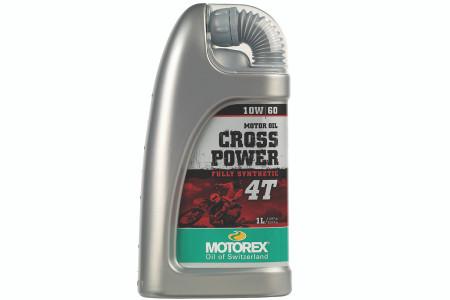 Motorex Cross Power 4T 10W60 100% Synthetic Oil - 4 Ltr