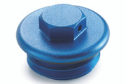 Husqvarna Billet Oil Fill Plug - Blue