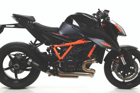 Arrow Pro Race Nichrom DARK Silencer for Super Duke 1290 R (2020+)