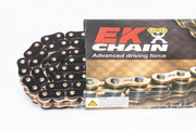 EK Chains 520 ZVX3 Series Street NX-Ring Chain (120) - Black