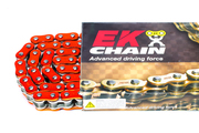 EK Chains 520 ZVX3 Series Street NX-Ring Chain (120) - Orange