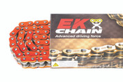 EK Chains 525 ZVX3 Series Street NX-Ring Chain (120) - Orange