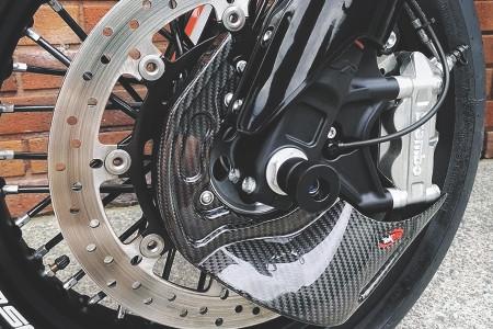 Tekmo Carbon Front Brake Air Scoop 690/701 SM/SMCR