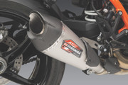 "Yoshimura AT2 Slip On Muffler ""Works Finish"" - 1290 Super Duke R (2020+)"