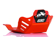 AXP Racing - KTM 690 Enduro/SMC-R (ALL) / Husqvarna 701 Enduro/SM Poly Skid Plate - (ORANGE)