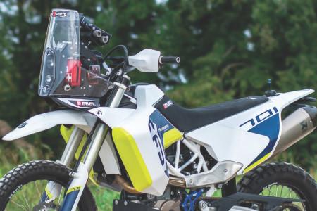 "RebelX Sports - Husqvarna 701 LR ""Long Range"" Adventure/Rally Conversion Kit"