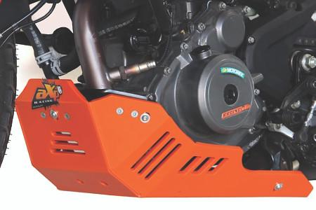 AXP Racing - KTM 390 Adventure Poly Skid Plate - (ORANGE)