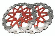 Galfer - KTM 890 Duke - Orange Front Brake Rotors - (Choose Options For Pricing)