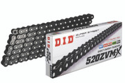 DID 520 ZVM-X Super Street X-Ring Chain (120) - BLACK