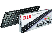 DID 525 ZVM-X Super Street X-Ring Chain (120) - BLACK