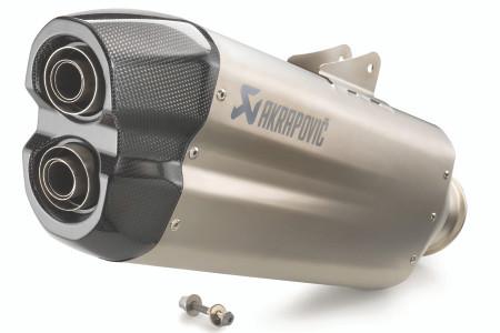 Akrapovic Slip-On Titanium Exhaust - KTM 1290 Adventure (2021+)