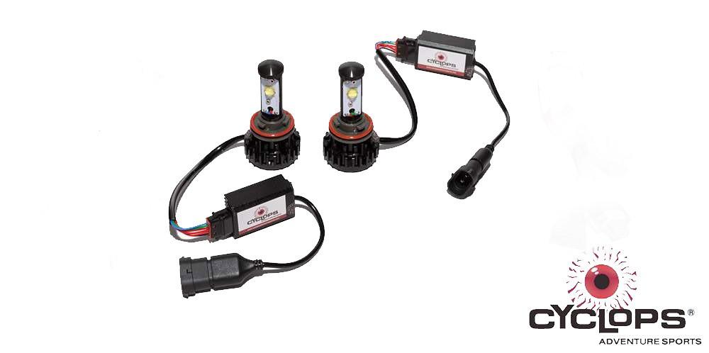 Cyclops KTM 1050-1290(S/M) ADV LED bulb replacement kit