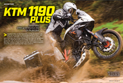 Dirt Bike Magazine / Dubya 1190 R