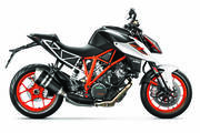 Super Duke 1290 (2017) - Intake/DeCat/Open Muffler PCV Tune OVER Akra Factory Tune