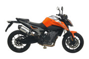 Arrow KTM 790/890 Duke - RaceTech Muffler - Titanium/Carbon