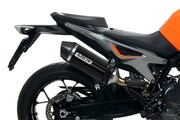 Arrow KTM 790/890 Duke - RaceTech Muffler - DARK Aluminum/Carbon
