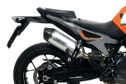 Arrow KTM 790/890 Duke - RaceTech Muffler - Aluminum/Carbon