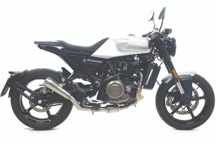 Husqvarna Vitpilen 701 Exhaust Hanger Motogp race Evotech Performance moto