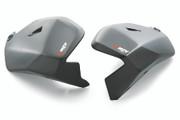 KTM Powerparts - KTM 790 Adventure Carbon Fiber Tank Protection Set