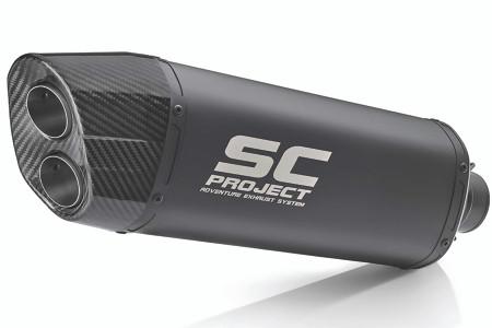 SC Project - KTM 1050-1290 Adventure Titanium Slip-On Exhaust