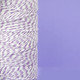 Purple Plum Bakers Twine made of cotton for Gift Wrap, Favours and Craft Projects