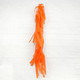 Orange tissue paper tassel tail garland for party balloons