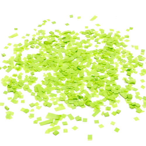 Green tissue paper party confetti