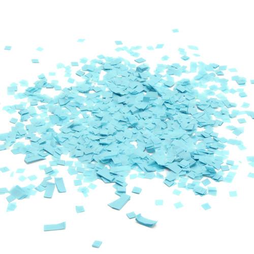 Blue tissue paper party confetti