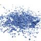 Dark blue tissue paper party confetti