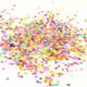 Rainbow mix tissue paper party confetti