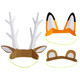 Animal Ears Hats for woodland forest parties, summer picnics, farm parties and fairy celebrations