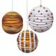 Gold Foil Lantern Decorations