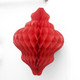 Red Honeycomb Lantern Decorations