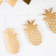 Gold Foil Pineapple Bunting