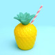 Pineapple party drinking cup for tropical themed celebrations or hen dos