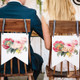 Mr and Mrs Botanical Floral Wedding Chair signs