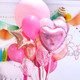 Heart party balloon for hen parties, baby showers, weddings or birthday parties
