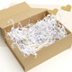 Luxury gift box filled with paper shredding
